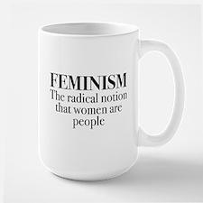 Feminism Large Mug