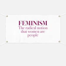 Feminism Banner