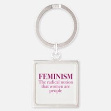 Feminism Square Keychain