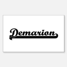 Demarion Classic Retro Name Design Decal