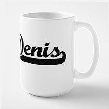 Denis Classic Retro Name Design Mugs