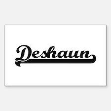 Deshaun Classic Retro Name Design Decal