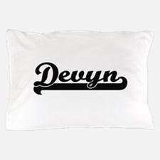 Devyn Classic Retro Name Design Pillow Case
