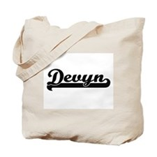 Devyn Classic Retro Name Design Tote Bag