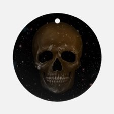 Space Skull Ornament (Round)