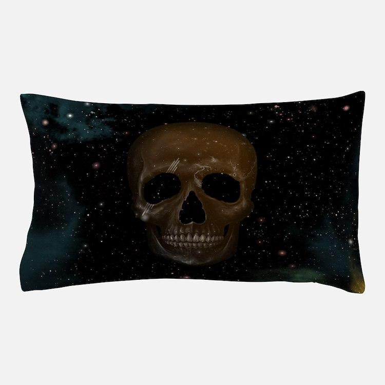 Space Skull Pillow Case