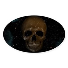 Space Skull Decal