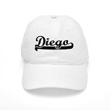 Diego Classic Retro Name Design Baseball Cap
