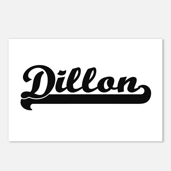 Dillon Classic Retro Name Postcards (Package of 8)