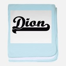 Dion Classic Retro Name Design baby blanket