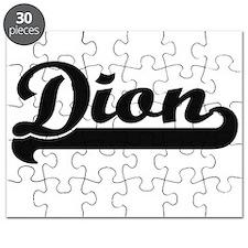 Dion Classic Retro Name Design Puzzle