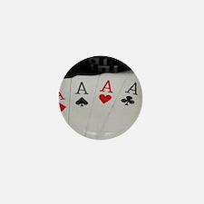 4 Aces Mini Button (10 pack)