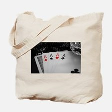 4 Aces Tote Bag