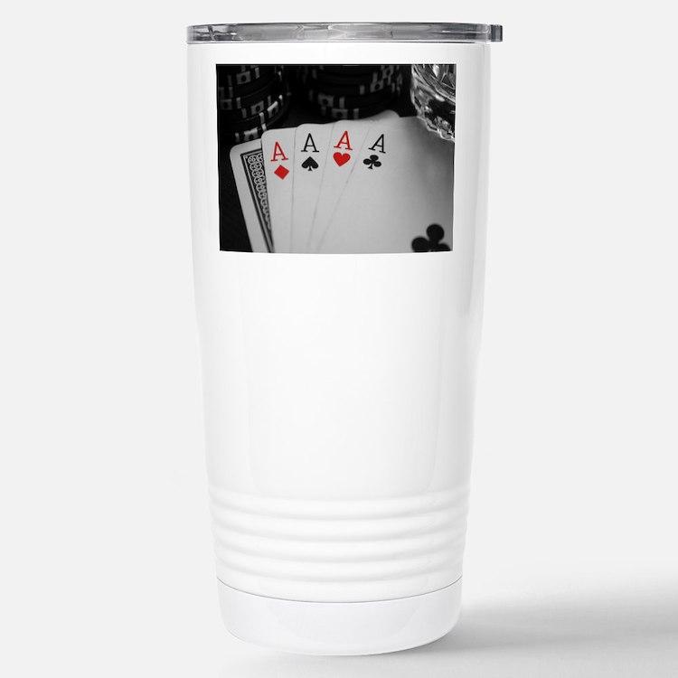 4 Aces Travel Mug