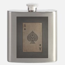 Ace Of Spades Flask