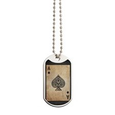 Ace Of Spades Dog Tags