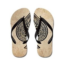 Ace Of Spades Flip Flops