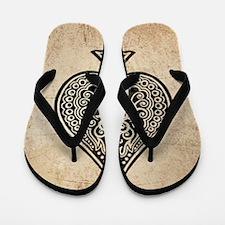Ace Of Spades Flip Flops