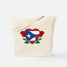 Heart Puerto Rico Tote Bag