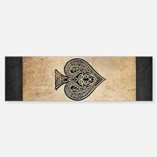 Ace Of Spades Bumper Bumper Bumper Sticker