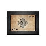 Poker 5x7 Rugs