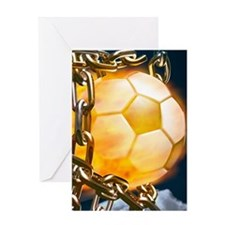 Ball Breaking Chain Net Greeting Cards