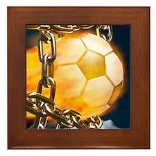 Ball Breaking Chain Net Framed Tile