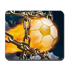 Ball Breaking Chain Net Mousepad