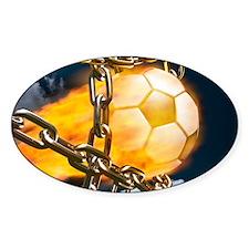 Ball Breaking Chain Net Decal
