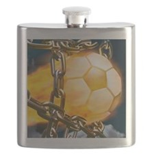 Ball Breaking Chain Net Flask