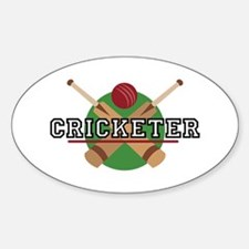 Cricketer Stickers