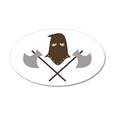 Executioner & Axes Wall Decal