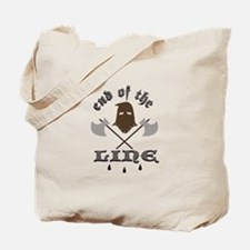 End Of The Line Tote Bag