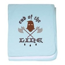 End Of The Line baby blanket