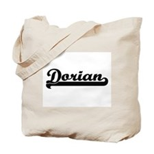 Dorian Classic Retro Name Design Tote Bag