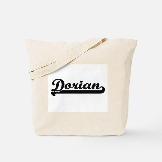 Dorian Classic Retro Name Design Tote Bag