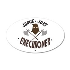 Executioner Wall Decal