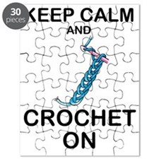CROCHET - KEEP CALM AND CROCHET ON Puzzle