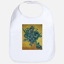 Irises by Vincent van Gogh Bib