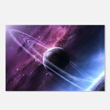 Planet Ring System Postcards (Package of 8)
