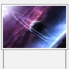 Planet Ring System Yard Sign