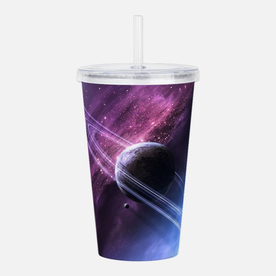 Planet Ring System Acrylic Double-wall Tumbler