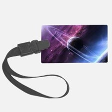 Planet Ring System Luggage Tag