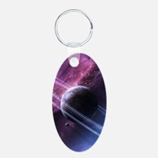 Planet Ring System Keychains