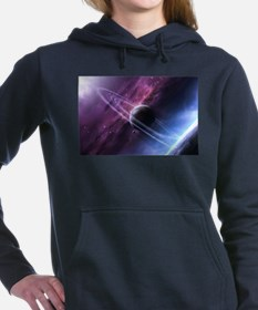Planet Ring System Women's Hooded Sweatshirt