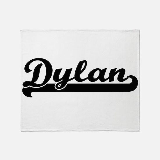 Dylan Classic Retro Name Design Throw Blanket