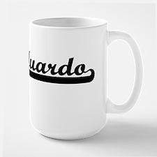 Eduardo Classic Retro Name Design Mugs