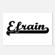 Efrain Classic Retro Name Postcards (Package of 8)