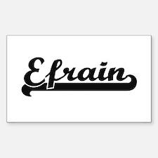 Efrain Classic Retro Name Design Decal