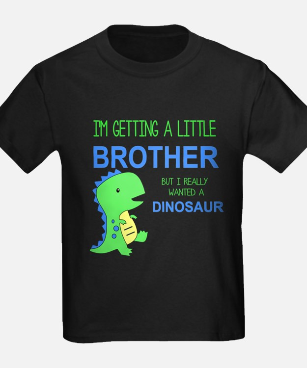 Really Wanted a Dinosaur T-Shirt
